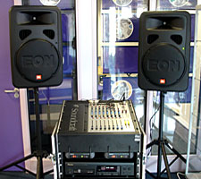 Portable PA system for Bradford and Bingley
