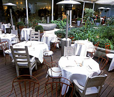 Sanderson: Spoon restaurant terrace