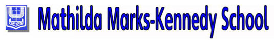 Mathilda Marks-Kennedy School logo