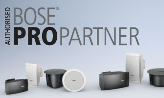 Authorised Bose PRO-Partner