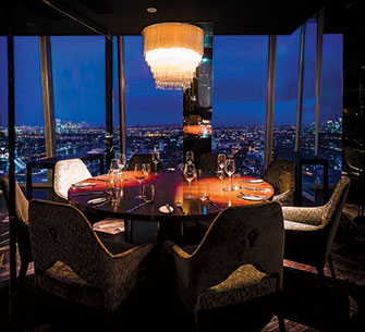 aqua shard private dining room