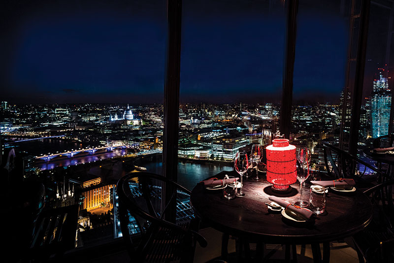 Hutong aqua shard sound systems av systems sound for Restaurants at the shard